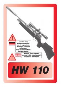 HW 110 Bedienungsanleitung
