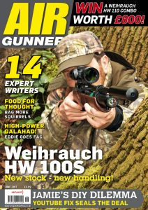 test reports about our model HW 100 - Weihrauch Sport